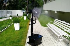 увлажнитель воздуха, уличный вентилятор
