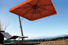 консольный зонт napoli braccio