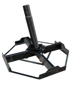 Capri-cross-metal-base-and-tube